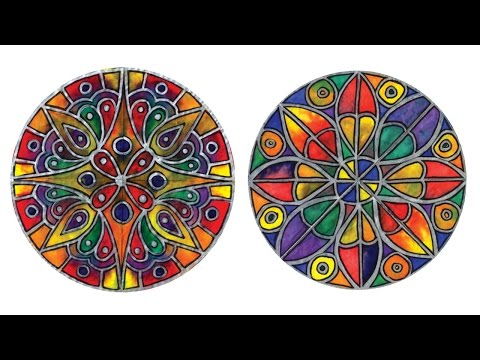 Color Diffusing Paper