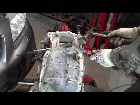 How to open Tight oil sump