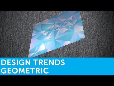 Graphic Design Trends: Geometric | Presented by Solopress