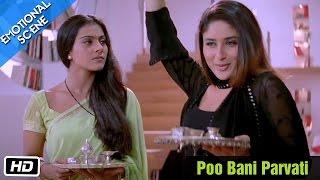 Poo Bani Parvati - Emotional Scene - Kabhi Khushi Kabhie Gham - Kajol, Shahrukh Khan