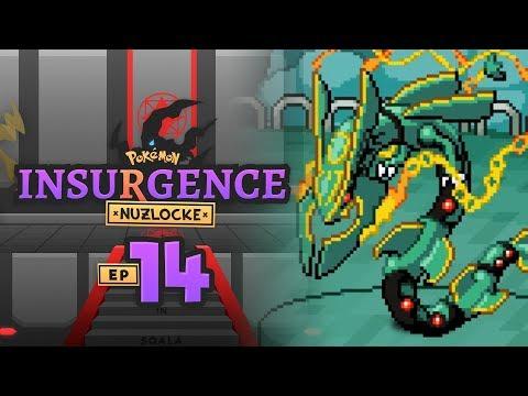 HE HAS A MEGA RAYQUAZA!? | Pokemon Insurgence Nuzlocke Part 14