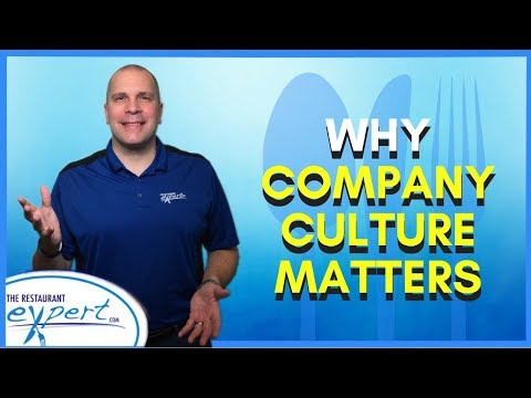 Restaurant Management Tip - Why Company Culture Is So Important in Restaurants #restaurantsystems