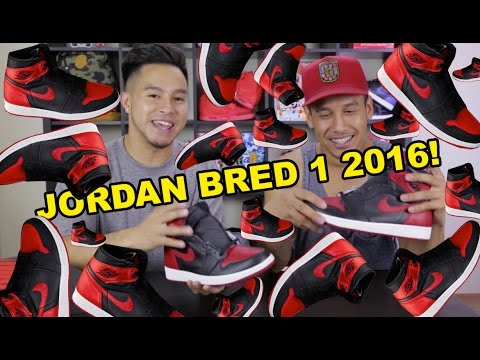 HOW YOU CAN GET THE JORDAN BRED 1 2016!