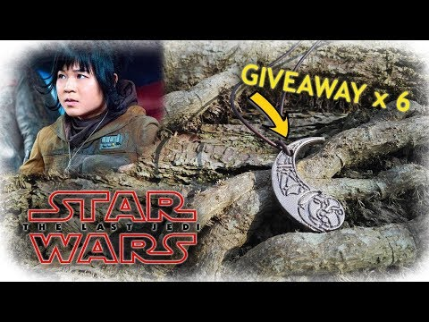 Casting Aluminum Bronze Rose Tico Medallion From STAR WARS The Last Jedi (100k GIVEAWAY)