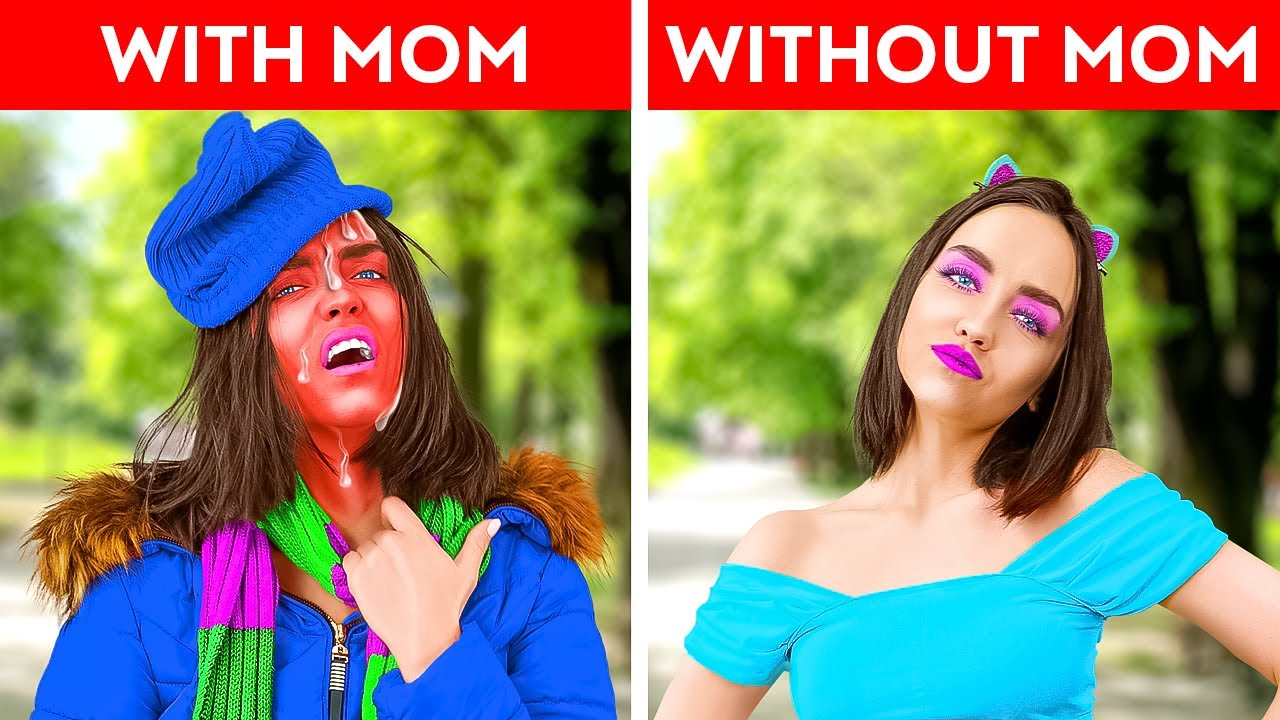 TEENS vs PARENTS FUNNY MOMENTS    My Mom VS Your Mom Relatable Situations by By La la Life Family