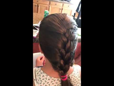 Easy French Braid Tutorial- The Hair Dad