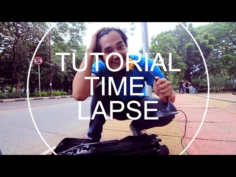 Tutorial Time Lapse Canon 60D - Indonesia