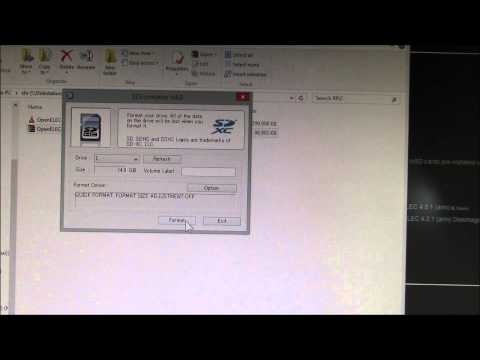 OpenELEC Kodi - Raspberry Pi - microSD Card Install