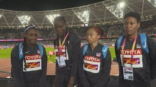 WCH 2017 London– Team USA 4X400 Metres relay Gold