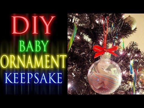 DIY Baby Ornament Keepsake