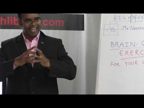 Short HELP Talk: Brain-GYM Exercise by Mr. Narendar Eerabathini