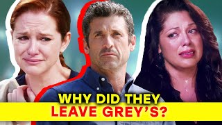 The Real Reasons Why Main Characters Left Grey