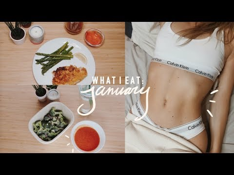 What I Eat in a Day: January (Quick Easy Healthy Vegan + Non Vegan Meals)
