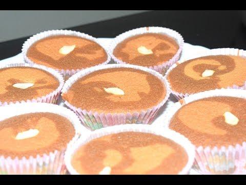 Cupcake In Malayalam | How to Make Easy Simple Cupcake | Vanilla with Chocolate cupcake |