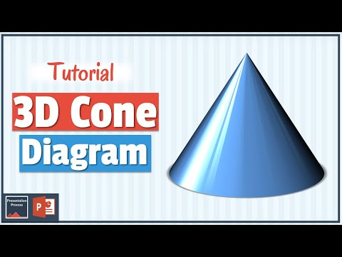 How to Create 3D Cone Diagram in PowerPoint
