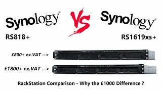 Synology RS819 4 Bay RackStation NAS for Business in 2019