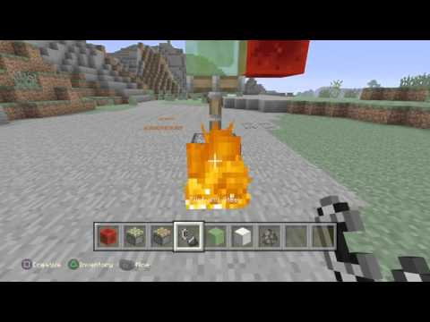How to make a working rocket without mods on minecraft ps4, ps3 and xbox