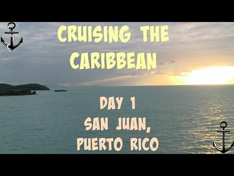 Cruising the Caribbean! Vlog # 1 - Travel Day to San Juan, Puerto Rico
