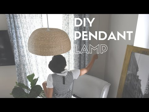 DIY| Create a custom lamp!