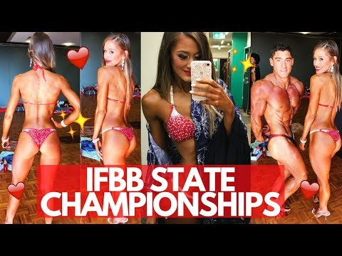 ❤️ IFBB VICTORIAN STATE CHAMPIONSHIPS 2017 | Show Day Vlog ✨🍟
