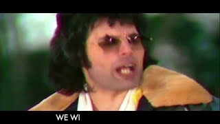 Queen - We Will Rock You (Official Lyric Video)