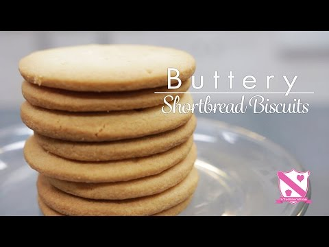 Shortbread Biscuit Recipe - In The Kitchen With Kate