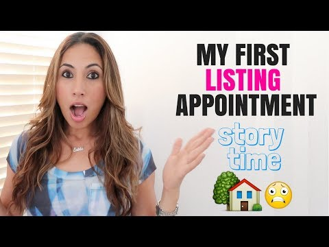 My First Listing Appointment - Story Time