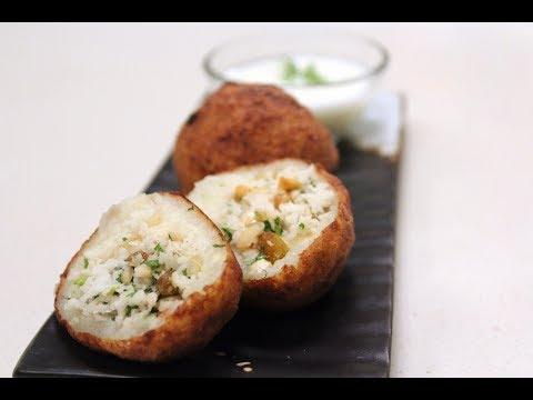 Farali Pattice | Indian Snacks Recipes | Sanjeev Kapoor Khazana