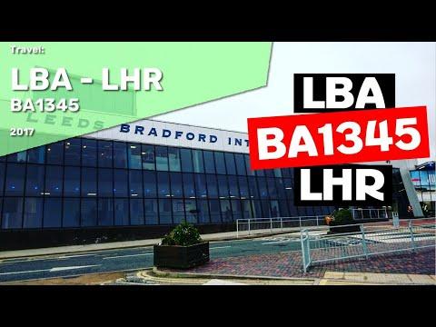 Leeds Bradford to London Heathrow BA1345