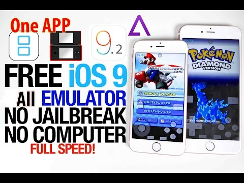How To Get GBA, NDS, PSP, N64 Emulators On IOS 9-9.2.1/9.3 WITHOUT Jailbreak iPhone/iPad/iPod