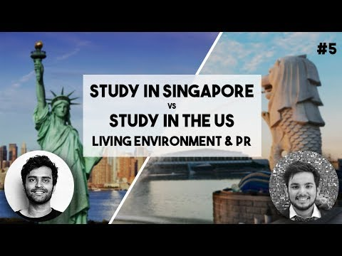 LIVING ENVIRONMENT & PR | Singapore VS US