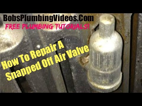 How To Remove a Damaged Air Valve (Steam Heat)