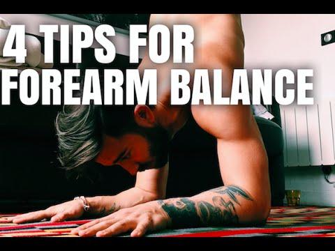 4 TIPS FOR FOREARM BALANCE   Yoga with Patrick Beach