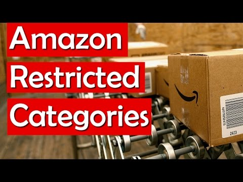 Amazon Restricted Categories - How to Become Ungated in Gated Categories (Invoices, Applications)