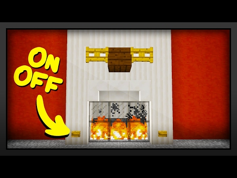 How To Make A Fire In A Fireplace In Minecraft