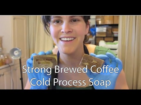 Strong Brewed Coffee Cold Processed Soap