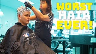 Going To The Worst Reviewed Hair Salon In My City (1 STAR)