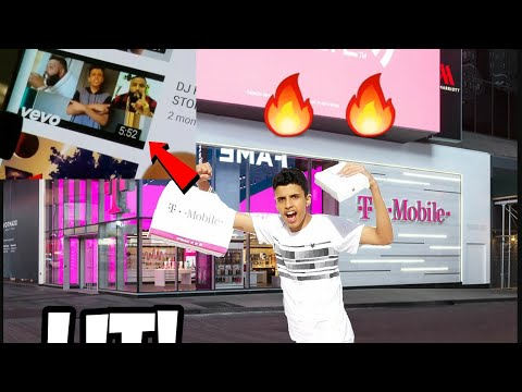 I PLAYED MY DISS TRACK AND CHANNEL AT T-Mobile **LIT**