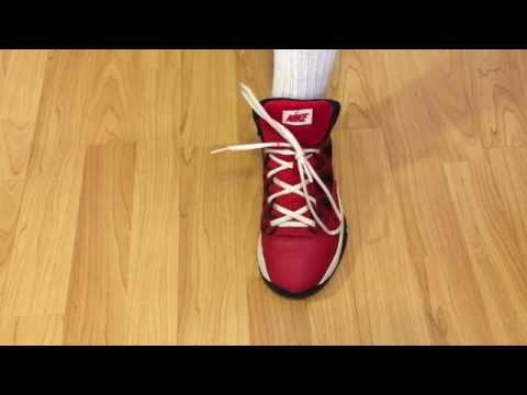 How to tie your shoes in just 2 seconds!