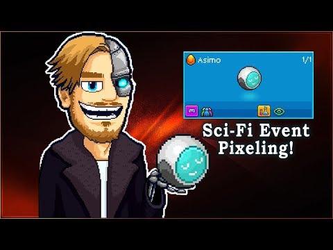 Pewdiepie's Tuber Simulator - Meet Asimo! [Sci-Fi Event Pixeling]