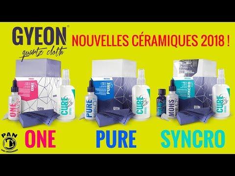 NOUVELLES PROTECTIONS CÉRAMIQUES GYEON 2018 : Q2 One, Pure et Syncro !!