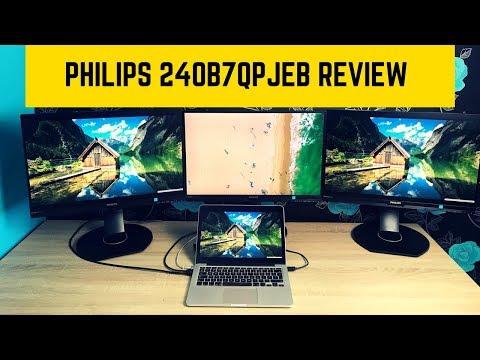 Philips 240B7QPJEB Triple Monitor Review