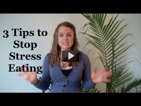3 Tips to Stop Stress Eating at Work