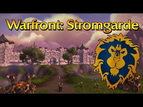 Alliance Warfront Testing - Battle for Azeroth Beta