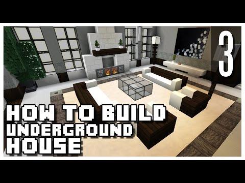 How to Build an Underground House in Minecraft - Part 3