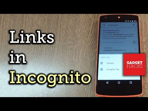 Open All Links in Incognito Mode on Chrome for Android [How-To]