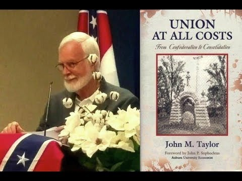 Author of 'UNION AT ALL COSTS', from Confederation to Consolidation