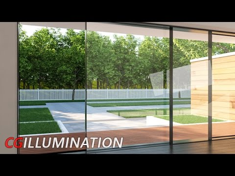 3ds max architecture tutorial: Modeling&Texturing Architectural Scene |Speed Tutorial