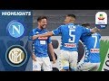 Napoli 4 1 Inter Napoli Hit Four To Dent Inters UCL Chance Serie A