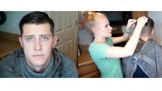 How To Cut Mens Hair/ Basic/ My Husbands Hair